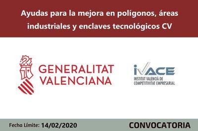 Ayudas para la mejora en polígonos, áreas industriales y enclaves tecnológicos