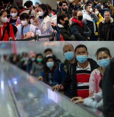 mascarillas desechables para coronavirus