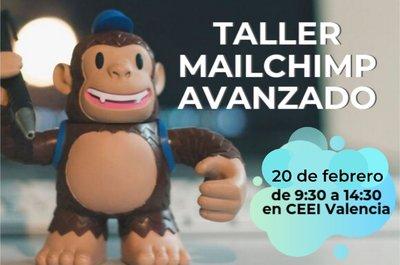 Cartel Taller Mailchimp Avanzado febrero 2020 Valencia