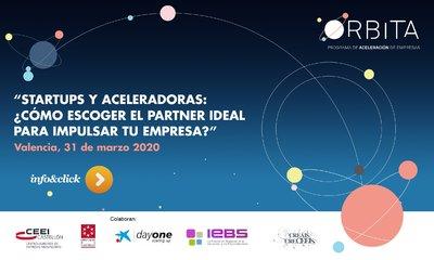 """Jornada: """"Startups y Aceleradoras: ¿Cómo escoger el partner ideal para impulsar tu empresa?"""" ON LINE"""