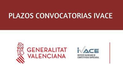 Los plazos de las convocatorias para las ayudas de IVACE quedan suspendidos hasta que pase el estado de alarma