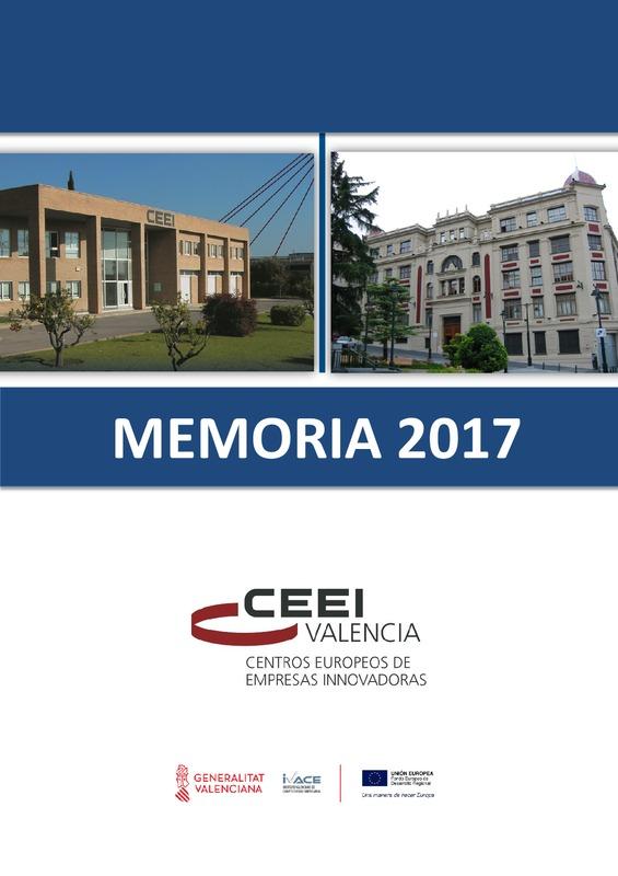 Memoria CEEI Valencia 2017 (Portada)