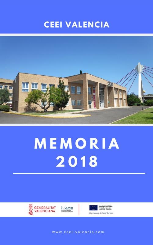 Memoria Anual 2018 CEEI Valencia (Portada)