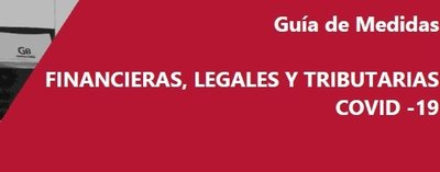 Guía financiera, tributaria y legal COVID-19