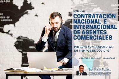 Contratación nacional e internacional de agentes comerciales.Preguntas y respuestas en tiempos de Covid-19.