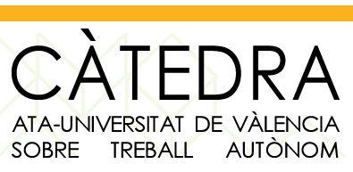 Universitat de Valencia. Cátedra Trabajo Autónomo.
