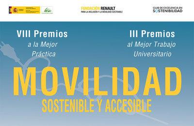 VIII Premios a la Mejor Práctica en Mobilidad Sotenible y Accesible y III Premios al Mejor TFG