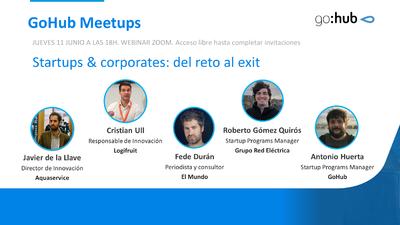 Webinar startups & corporates