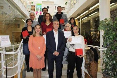 María Vicente recibe en 2019 Premi Dona Artesana