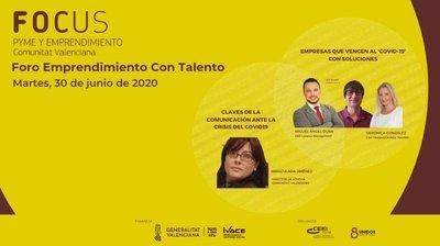 El Foro Emprendimiento con Talento reunirá a pymes, empresarios y emprendedores en un encuentro online