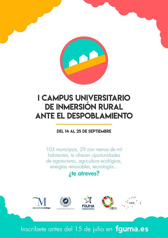 I Campus Universitario de Inmersión Rural ante el Despoblamiento