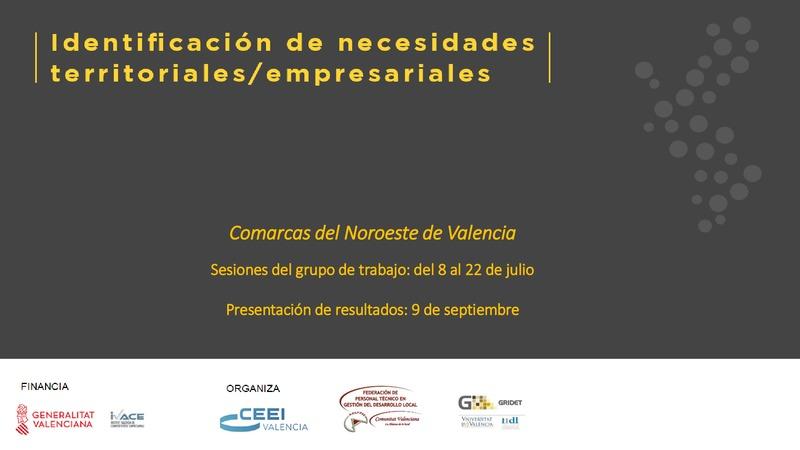 Resultados Identificación Necesidades Interior provincia de Valencia