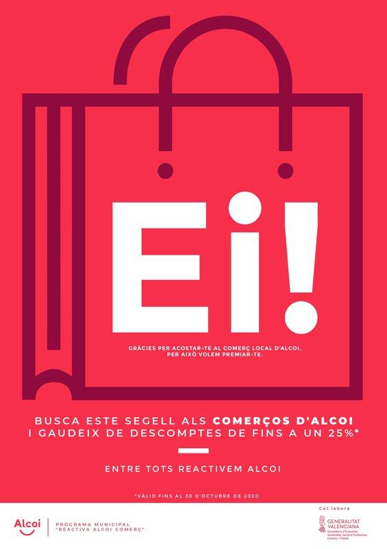 Campaña Ei! del ajuntament d'Alcoi