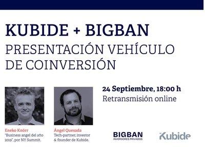 Presentación del nuevo vehículo Kubide+Bigban