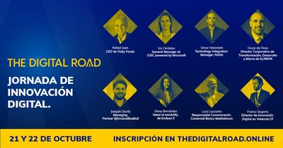 Cartel The Digital Road. Jornada Innovación Digital