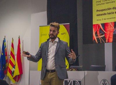 Nicola Cerantola en Focus Pyme Alcoià-Comtat 2019