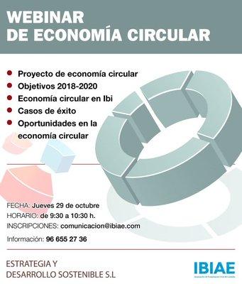 Webinar sobre economía circular