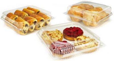 Envases rígidos bollería y pastelería