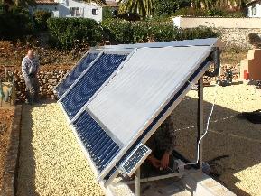 KUBERTOR, sistemas de captación solar