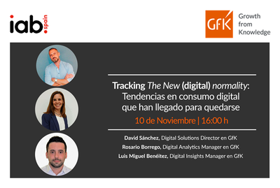 Webinar | Tracking The New (digital) normality: Tendencias en consumo digital que han llegado para quedarse