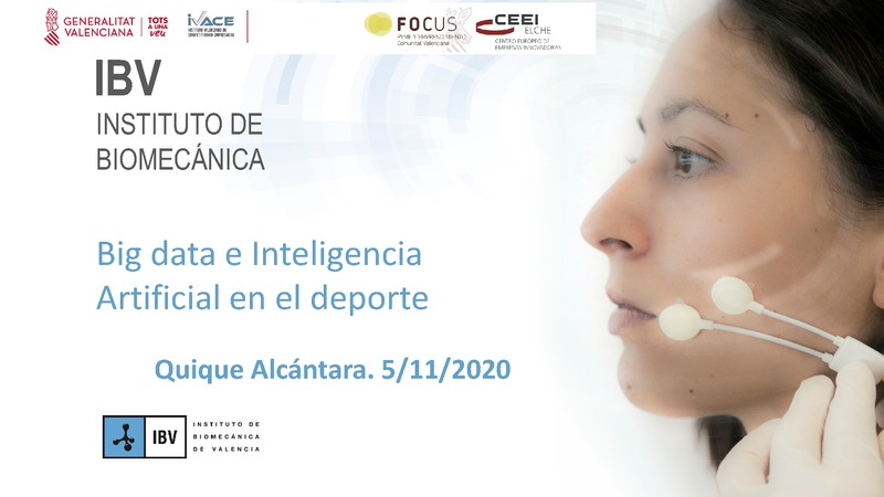Big data e Inteligencia Artificial en el deporte (Portada)
