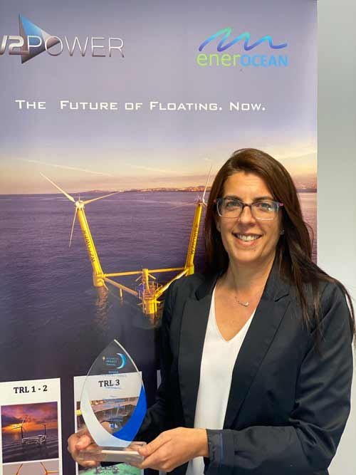 EnerOcean se alza con el premio Atlantic Project Awards