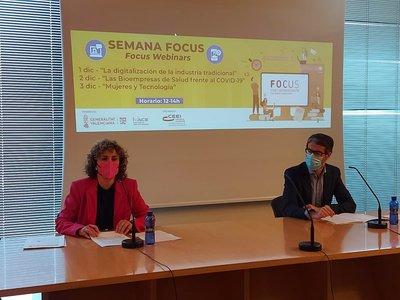 Digitalización, salud y mujer protagonizan la Semana Focus Pyme y Emprendimiento Comunitat Valenciana 2020