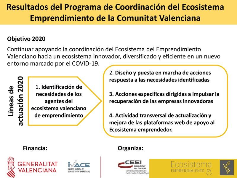 Presentación de resultados del Programa de Apoyo al Emprendimiento Innovador 2020