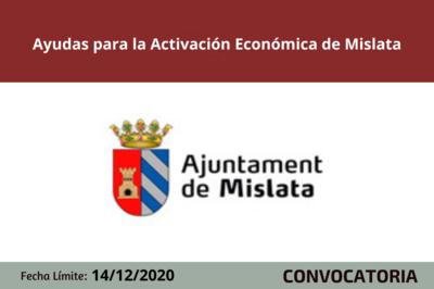 Ayudas para la Activación Económica de Mislata