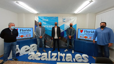 Xúquer Centre Educatiu y Florida Universitària firman un acuerdo con la Asociación Empresarial de Alzira