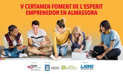 V Certamen Foment de l'Esperit Emprenedor en Almassora. CATEGORÍA IDEA