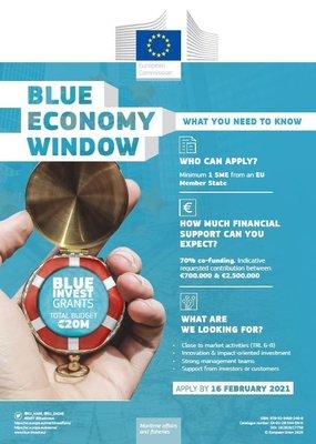 Financiación Europea - Blue Economy Call2020