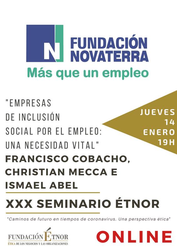 """Seminario ÉTNOR """"Empresas de Inclusión Social por el Empleo: Una Necesidad Vital"""""""