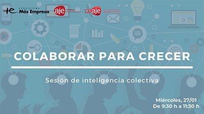 Sesión online de inteligencia colectiva: Colaborar para crecer
