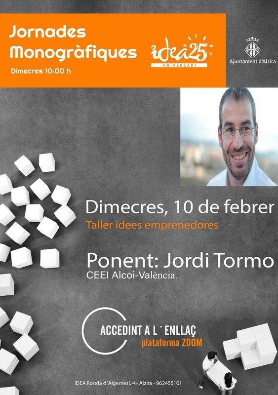 Jornadas Monográficas: Ideas emprendedoras y creatividad