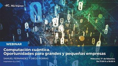 Webinar | Computación cuántica: oportunidades para grandes y pequeñas empresas