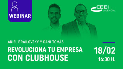 Webinar revoluciona tu empresa con Clubhouse