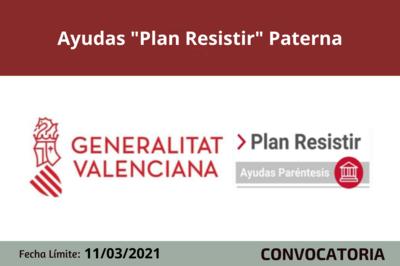 """Ayudas """"Plan Resistir"""" en Paterna"""