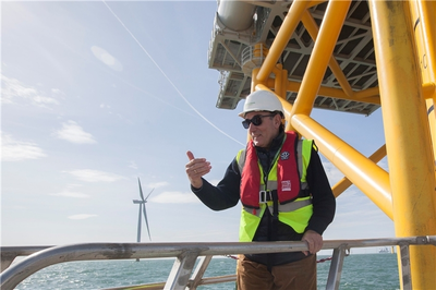 Iberdrola proyecta el primer parque eólico marino flotante a escala industrial en España