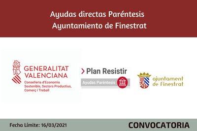 Ayudas Económicas Covid 19 - Ayuntamiento de Finestrat