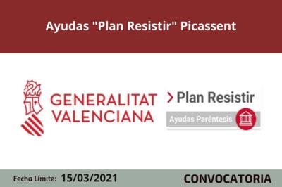 """Ayudas """"Plan Resistir"""" en Picassent"""