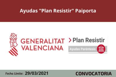 """Ayudas """"Plan Resistir"""" en Paiporta"""