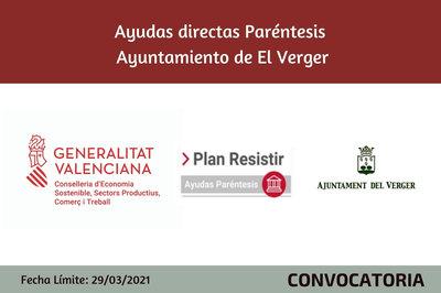 Ayudas Económicas Covid 19 - Ayuntamiento de El Verger