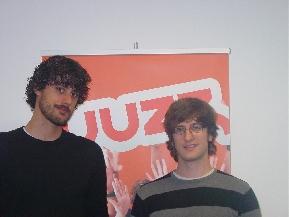 Rubén Blanco y Javier Campos