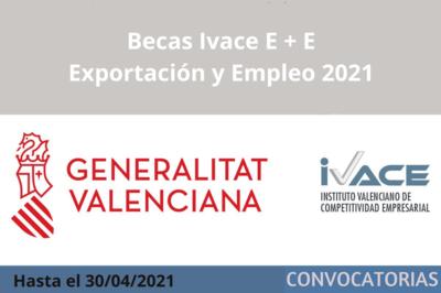 Becas Ivace E+E 2021