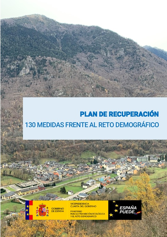 Plan de recuperación: 130 Medidas ante el Reto Demográfico