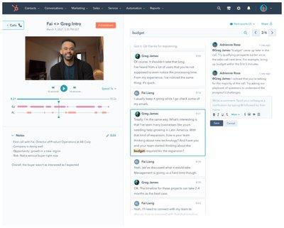 HubSpot - Inteligencia Conversacional