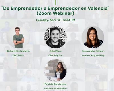 De Emprendedor a Emprendedor en Valencia