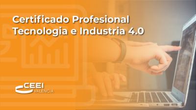 Certificado Profesional Tecnología e Industria 4.0 (CPTI)