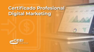 Certificado Profesional Digital Marketing (CPDM)